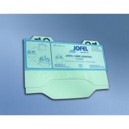 Сменный блок для АМ21000 -диспенсера бумажных покрытий на сиденье унитаза, 125 листов/блок, 12 блоков/упак, цена за упак