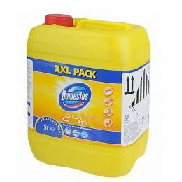 Моющее средство для ежедневной уборки / Domestos Fresh Citrus. 5л
