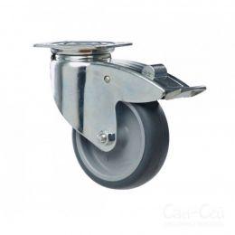 Волео Про: колесо с педалью тормоза