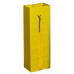 Мешок с молнией 70 л желтый