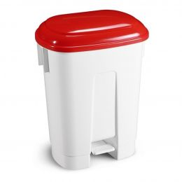 Ведро мусорное Derby, с красной крышкой, 60 л.