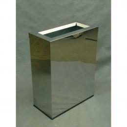 Урна для помещения Орландо (300х600х830 мм, 80 л, с емкостью)полированная