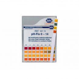 MN92110 Test Strips pH 0-14 100pc / Тест-полоски для определения уровня pH, 0-14 ppm (производитель Macherey-Nagel) *под заказ