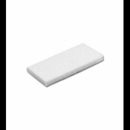 Ручной Супер-пад 20мм прямоугольный белый