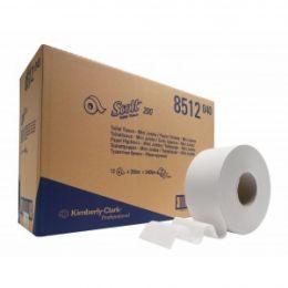 Туалетная бумага в рулонах 2 слоя Kimberly-Clark 8512 SCOTT Performance