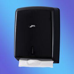 Диспенсер-контейнер Azur для бумажных полотенец, ABS-пластик. Цвет чёрный