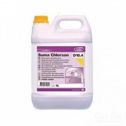 Suma Chlorsan D10.4 / Моющее ср-во с хлором *под заказ. 2 х 5 л