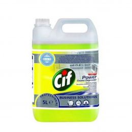Очиститель и обезжириватель (концентрат) / Cif Power Cleaner Degreaser conc. 2 x 5 л