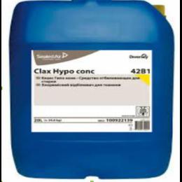 Clax Hypo conc 42B1 20L / Средство отбеливающее для стирки, низкотемпературный отбеливатель, 20 л