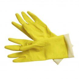 Резиновые перчатки Контракт, желтый,S,M,L,XL