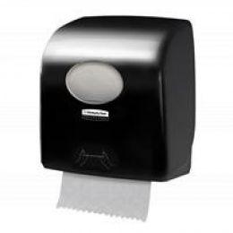 Диспенсер AQUARIUS для рулонных полотенец, черный 7956