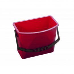 TASKI Bucket 15L Red 1pc / Ведро красное, 15л *под заказ