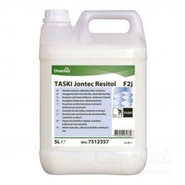 TASKI Jontec Resitol / Глянцевая эмульсия для водостойких полов в ЛПУ *под заказ 5 л