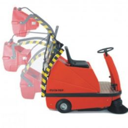 Sweeper TTE 1100 with hydraulic lifter / Подметальная машина