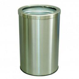 Урна для помещения Баррель-380 (с кольцом под пакет)70л