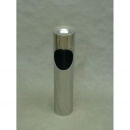 Урна-пепельница Н-150 (150х700 мм, 7 л, без емкости) металл