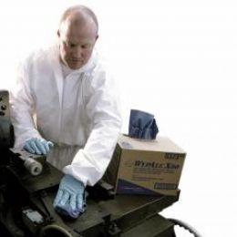 Воздухопроницаемый комбинезон Kimberly-Clark KLEENGUARD A40 для защиты от брызг и твердых частиц - с капюшоном