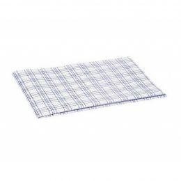 Салфетка ТиТауэл микро,бел/синий,40х60 см